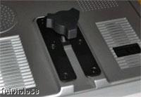 Slitta posteriore monitor per fissagio staffa