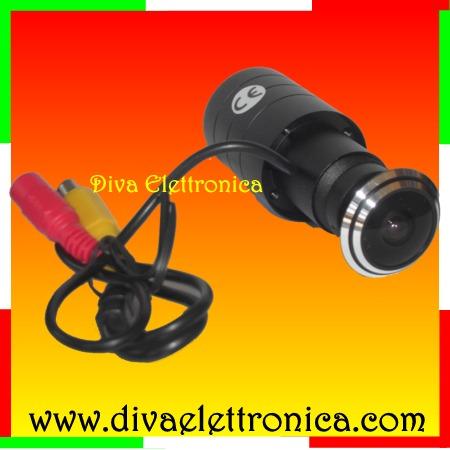 Telecamera per lo spioncino della porta con angolo di 170 - Spioncino porta con telecamera ...