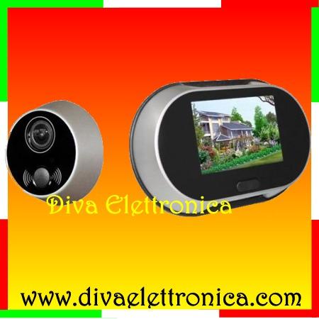Questo prodotto non pi disponibile - Spioncino porta con telecamera ...