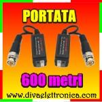 Vai alla scheda di: Balun convertitore passivo di segnale video fino a 600 metri