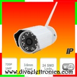 Bullet IP WIFI Onvif 24 Led SMD