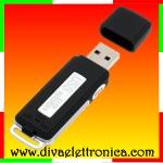 Vai alla scheda di: Chiavetta USB 4Gb registrazione audio
