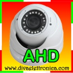 DOME AHD ANALOGICA 720P, VARIFOCAL 2.8-12mm 18 SMD LED, IP66 ANTIVANDALO
