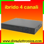 HDEYE - 5 in 1 DVR ibrido 04 canali video + 4 canali audio, 1080N