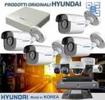 Vai alla scheda di: KIT 4 CANALI HYUNDAI - DVR + Telecamere HYU510 + HD Sata + GARANZIA 3 ANNI