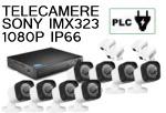 Vai alla scheda di: Kit 8 canali 1080P PLC power line su presa elettrica  telecamere Sony