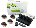 Vai alla scheda di: Kit videosorveglianza 4 canali AHD1080P