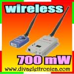 Vai alla scheda di: KIT wireless RTX 700mW 8-15 CANALI AD ALTA POTENZA