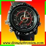 Vai alla scheda di: Spy Watch Orologio Spia Sportivo Memoria 8Gb registra audio e video e fotografie