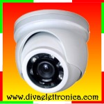 Telecamera AHD Analogica Dome antivandalo IP66, 720P 12 LED IR, Chip Aptinia, compatibile UTC