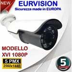 Vai alla scheda di: Telecamera Bullet 5MPx ibrida 4in1 lente 3.6mm 24 Led IR SMD