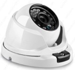 Telecamera Dome IP 2MPx POE 24 led Sony Starvis IP66 1080P Metallo