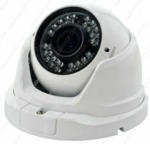 Telecamera Dome IP 2MPx POE Varifocale 24 led Sony IP66 1080P Metallo