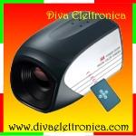 Vai alla scheda di: Telecamera Moby Zoom 30x CCD Sony 480 TVL con telecomando