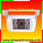 Vai alla scheda di: TeleCamera per retromarcia BIANCA CCD 600 TVL a colori 92 gradi visuale per Camper Camion Mezzi Agricoli Macchine Operatrici