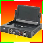 xMeye - DVR 04 canali audio e video, tecnologia 5 in 1, 1080N con monitor 7 pollici