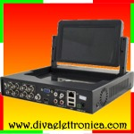 xMeye - DVR 08 canali audio e video, tecnologia 5 in 1, 1080N con monitor 7 pollici