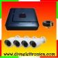 Vai alla scheda di: Kit videosorveglianza 4 canali AHD 720P