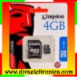 Micro sd Card 4 Gb con adattatore