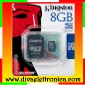 Micro sd Card 8 Gb con adattatore