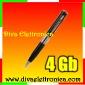 Vai alla scheda di: Penna spia con registrazione su micro sd card da 4 gb inclusa