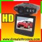 Telecamera Scatola nera per auto HD 720 P monitor LCD 2.5 Pollici 6 LED infrarossi